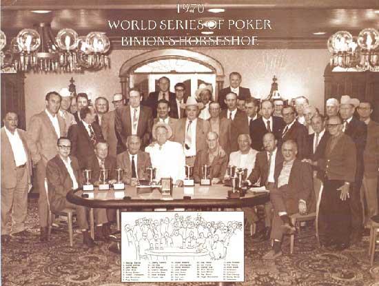 1970 World Series Of Poker