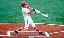Бейзболист в игра