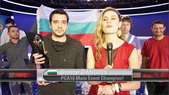 Димитър Данчев покер шампион