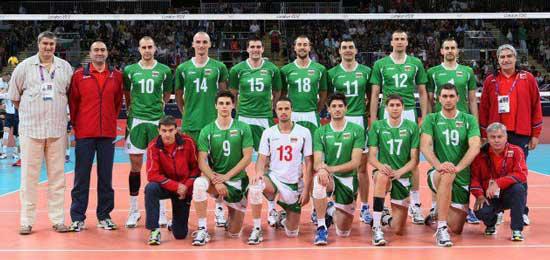 Българския национален отбор по волейбол мъже