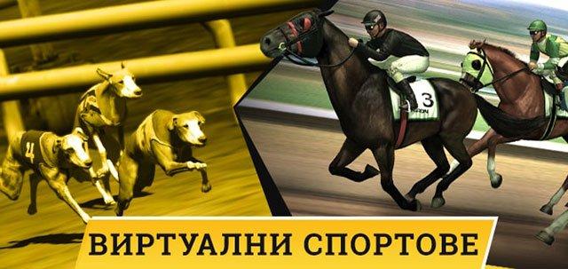 Виртуални надбягвания с коне и кучета в Ефбет