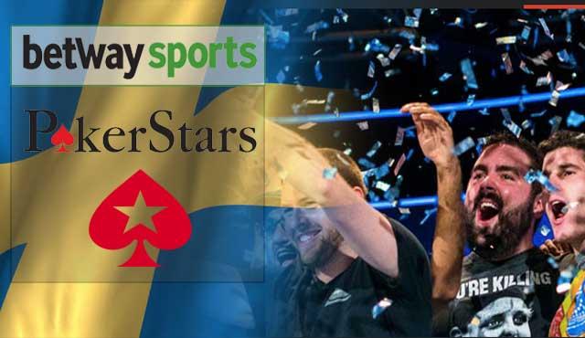 Шведският хазартен регулатор лицензите за регулирания си пазар PokerStars, Betway и Betclic.