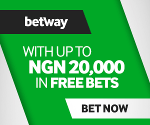 Betway - NGN 20,000 in free bets