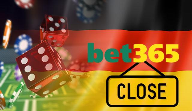 Bet365 затваря казино раздела в Германия