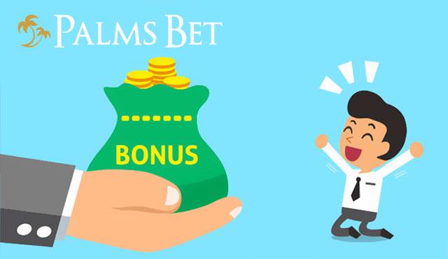 Palms Bet бонус всеки ден