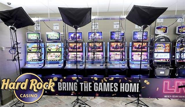 Hard Rock Casino със слот игри на живо