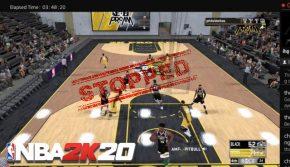 Изтичане на резултати при NBA 2k20