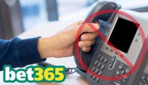 Край на залозите по телефон за Bet365