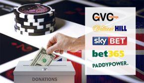 Букмейкъри с дарение за проблемен хазарт