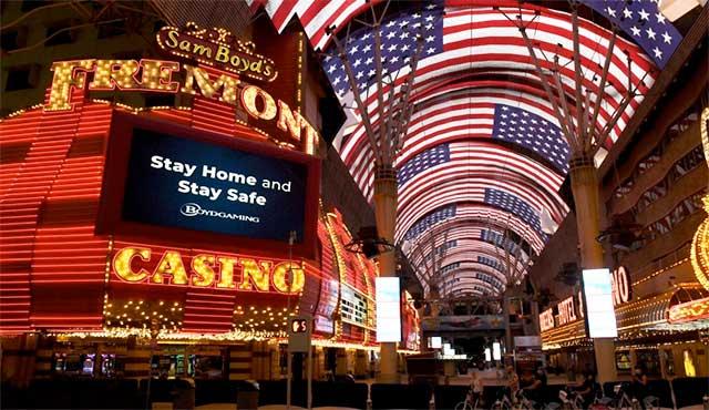 Отваряне на казината в Лас Вегас