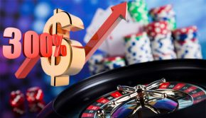 Утрояване на казино пазара